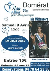 Election miss Allier 2016